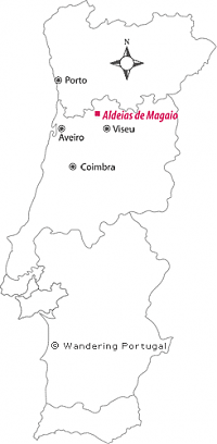 aldeias de magaio map