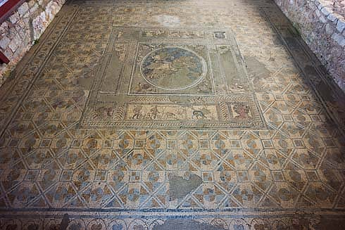 conimbriga floor mosaic